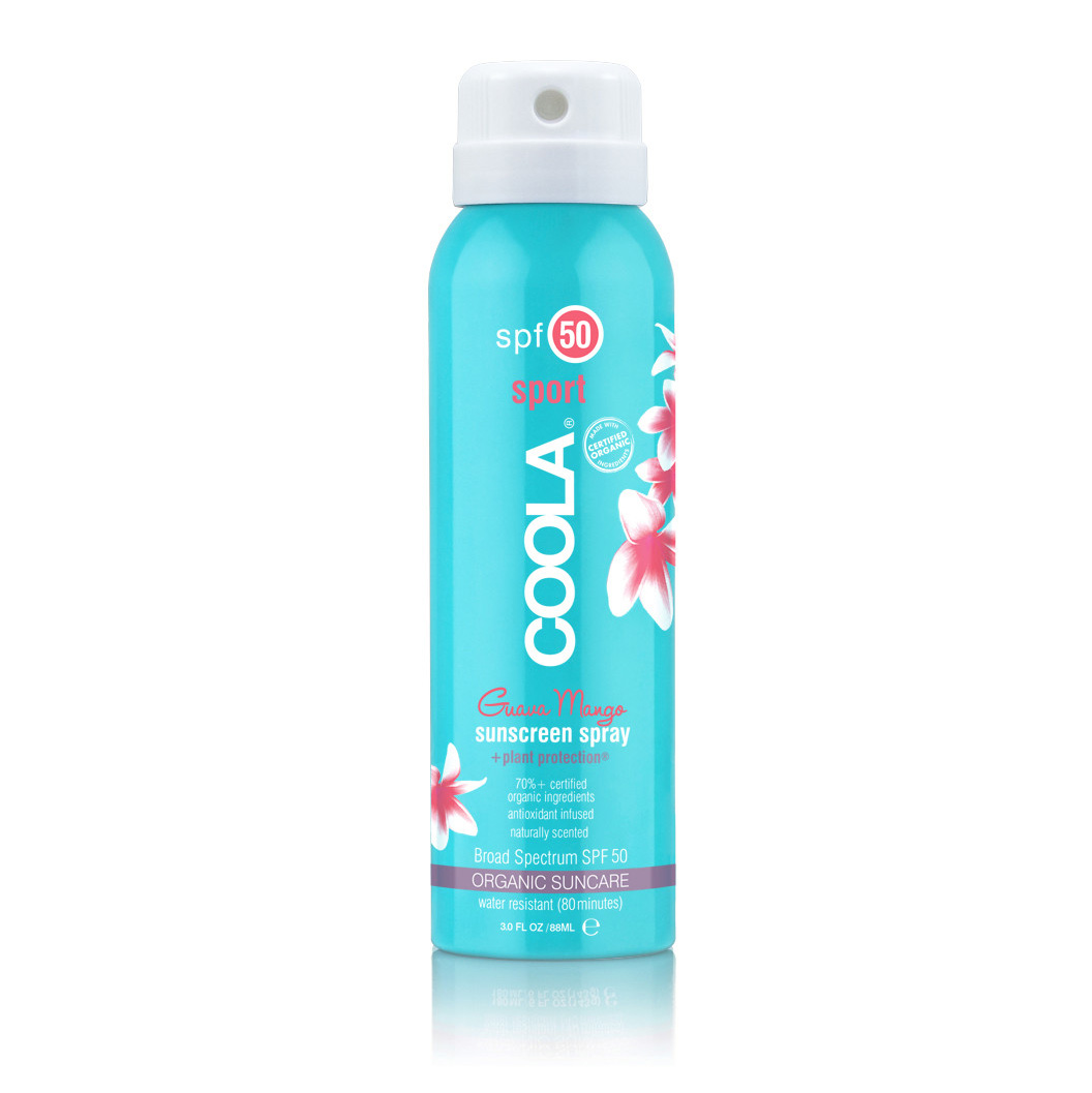 COOLA's easy to use sport sprays come in citrusy scents like Guava Mango and Pina Colada, and promise 80 minutes of water resistance, keeping you safe from sun no matter how much you sweat on the course. $24 for 3.4 oz. BUY IT NOW