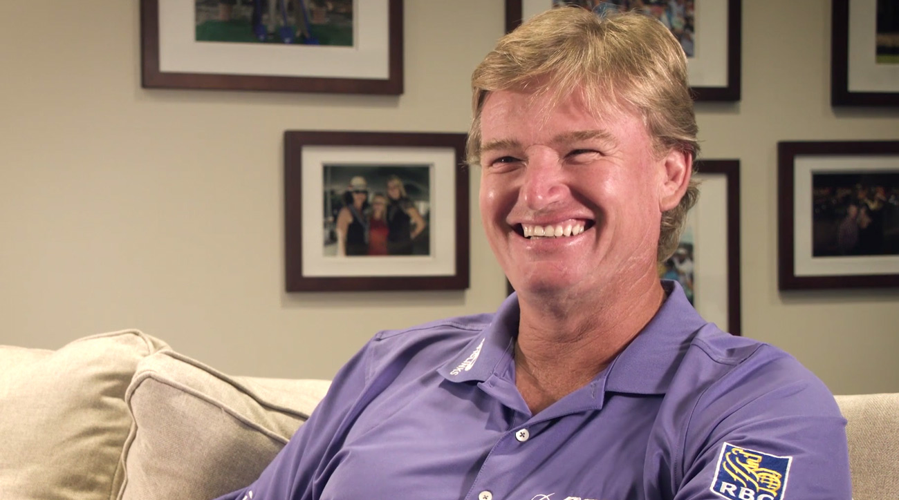 Ernie Els during his GOLF Magazine interview.