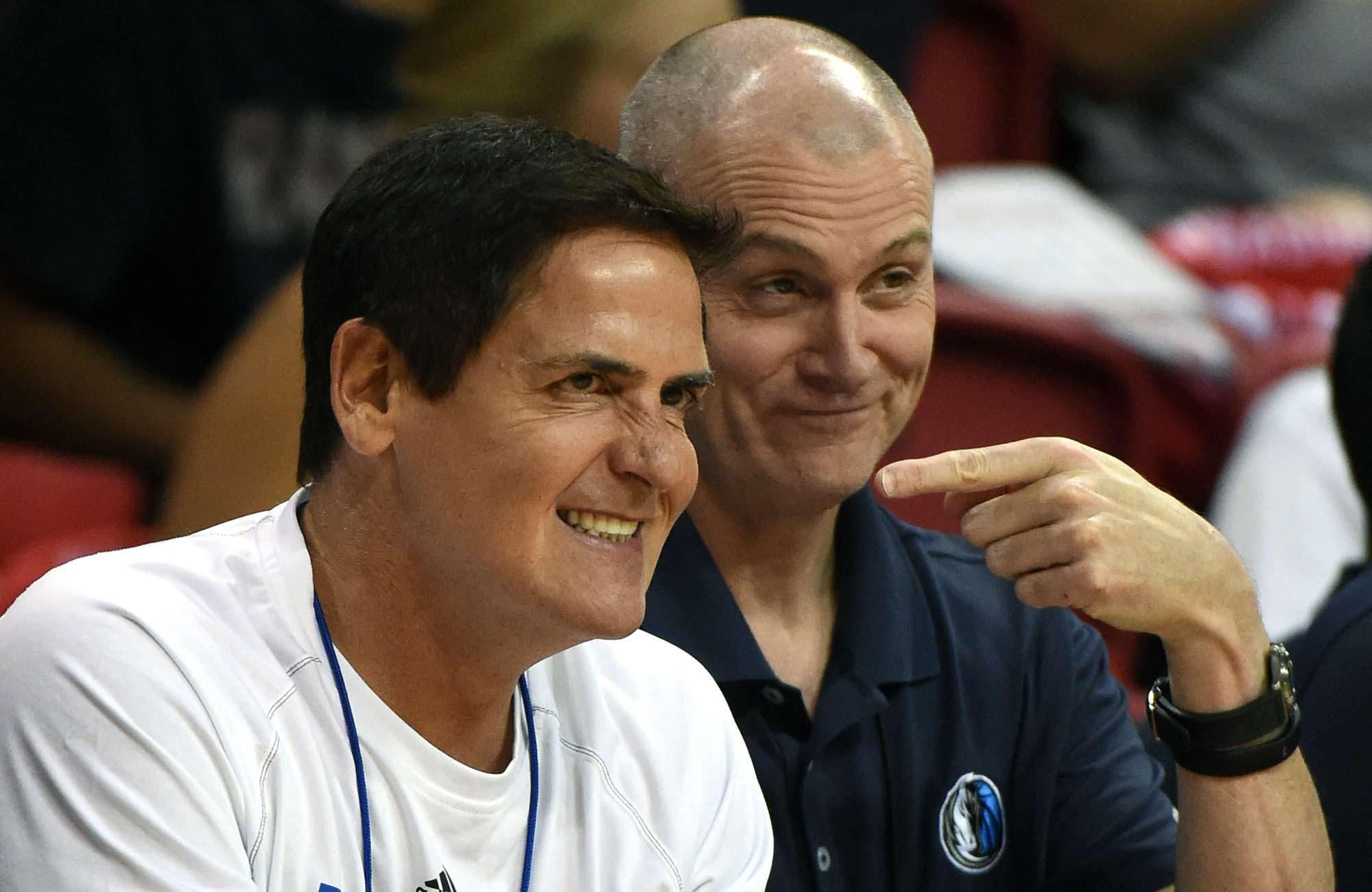 Mark Cuban and Rick Carlisle