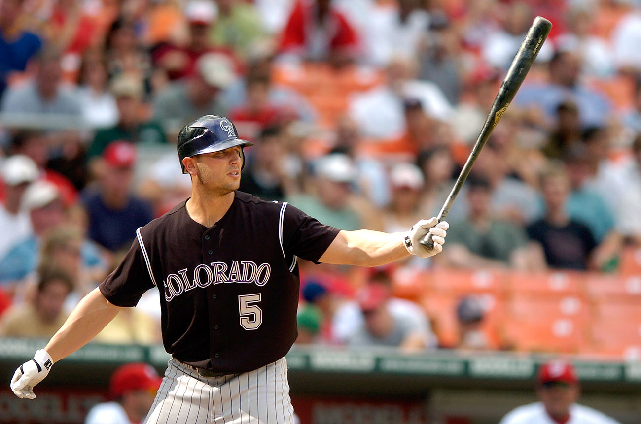 Over five seasons with the Rockies, Holliday was an All-Star three times and led Colorado to its only World Series appearance.