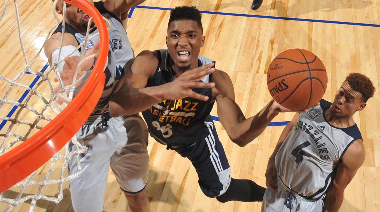 Image result for donovan mitchell summer league