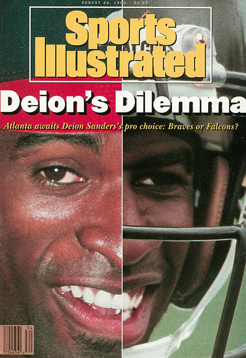 The August 24, 1992 cover of SI.