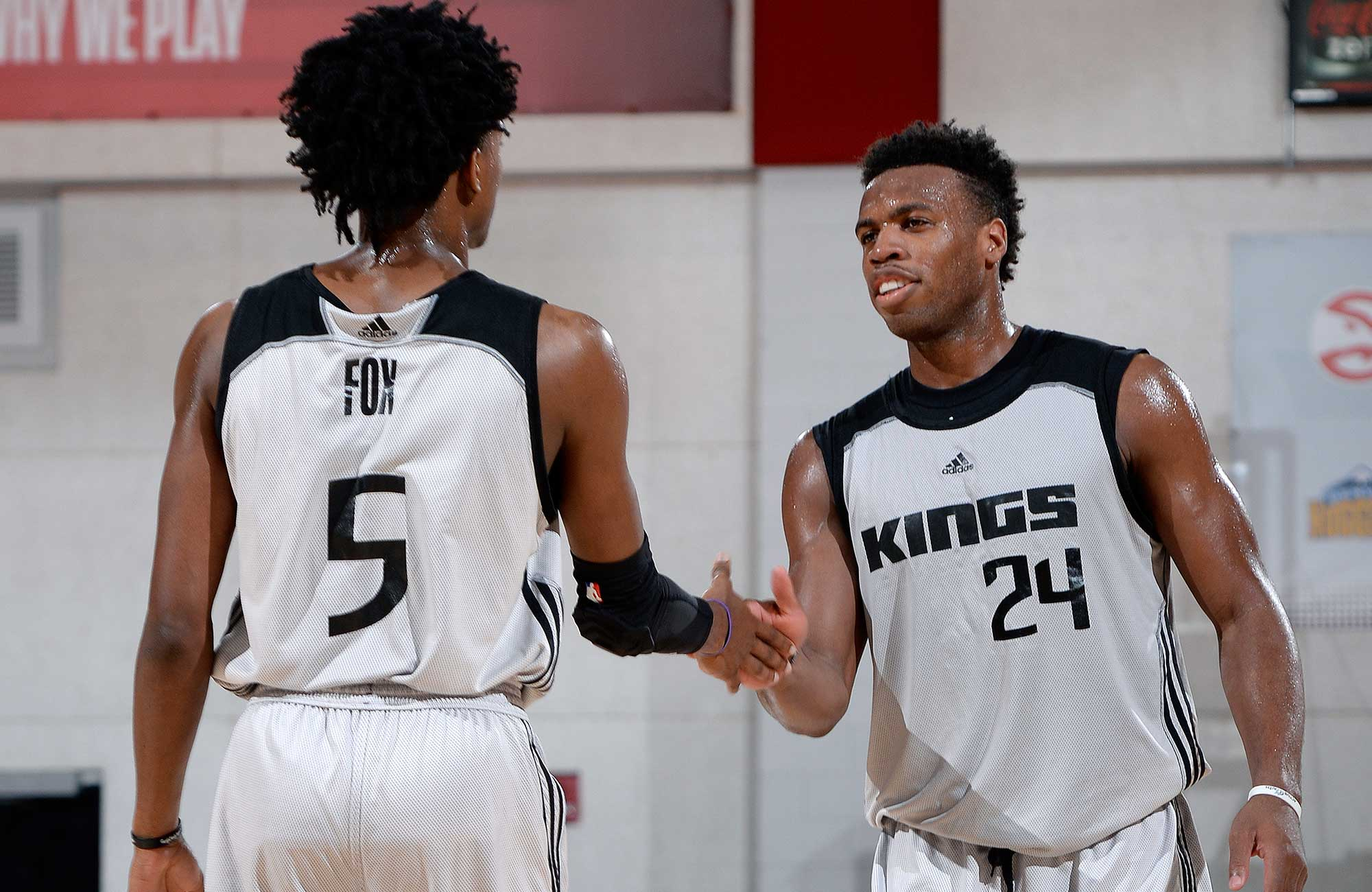 De'Aaron Fox and Buddy Hield
