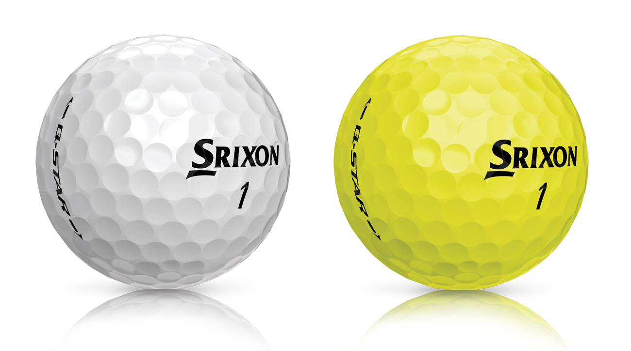 The new Srixon Q-Star golf balls are available in both white and yellow.