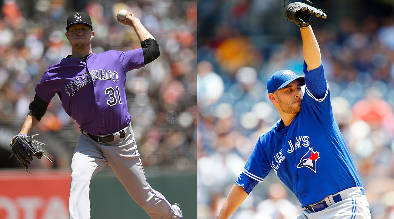Kyle Freeland, Colorado Rockies; Marco Estada, Toronto Blue Jays