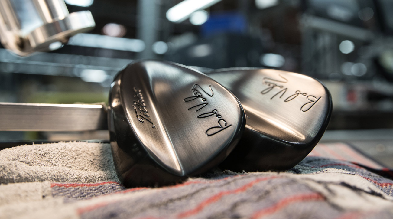 The new Vokey Signature 56-degree wedges.