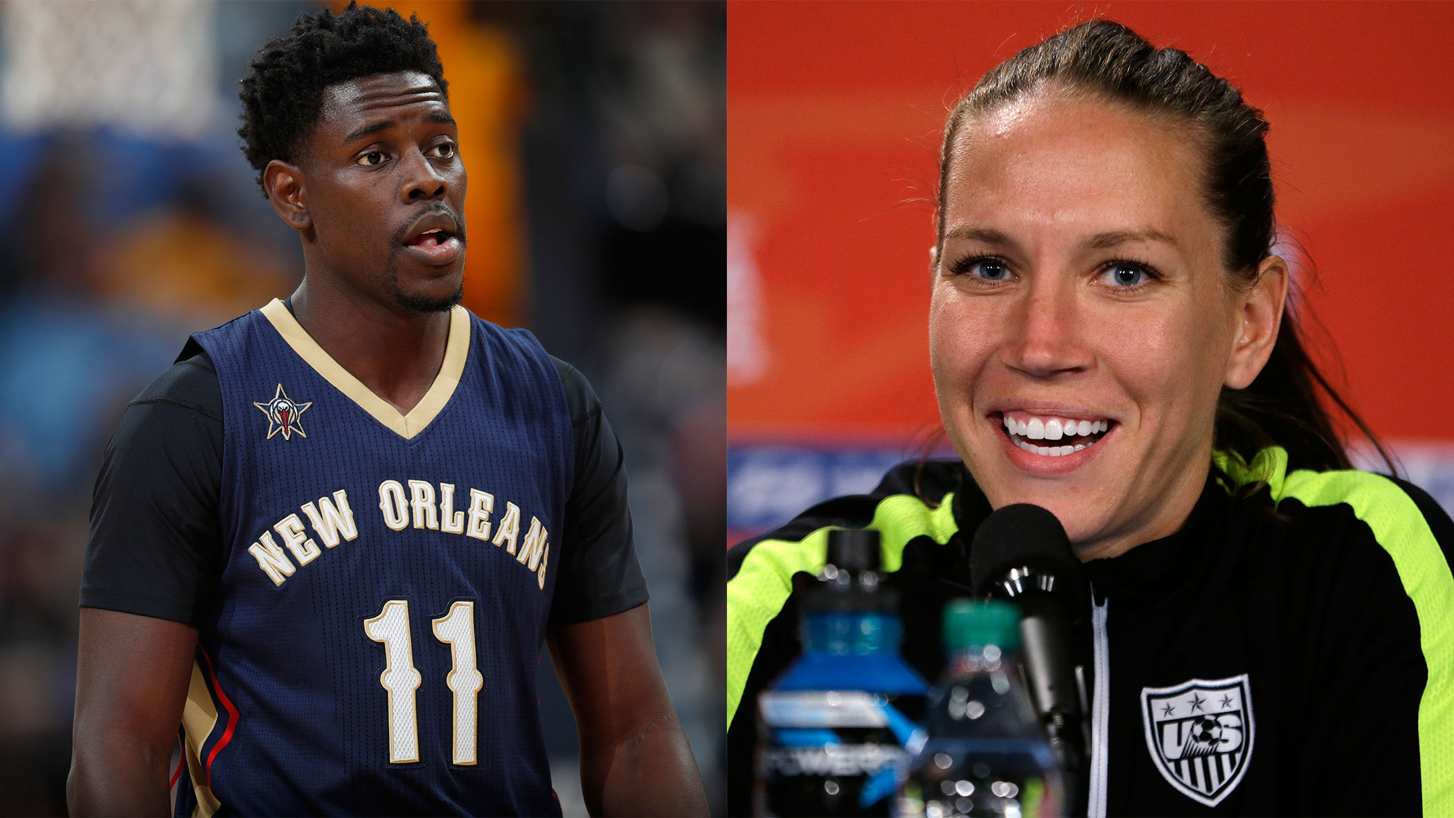 Jrue Holiday and Lauren Cheney were married in 2013.