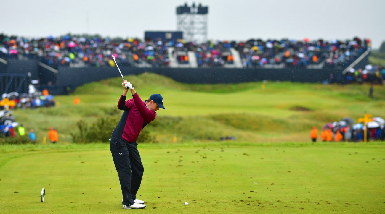 Follow the third round of the Open Championship below.