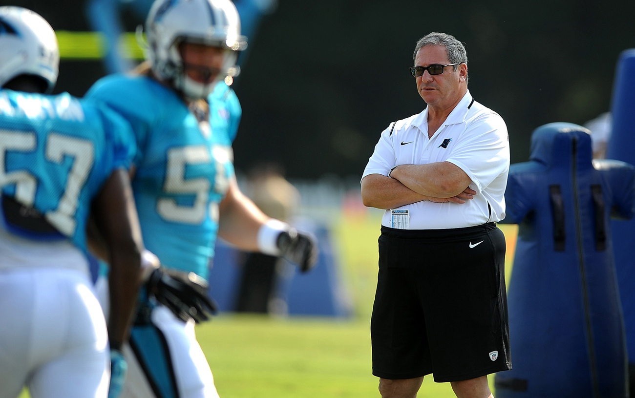 Dave Gettleman's four-year tenure as Panthers GM ended when he was fired last week.