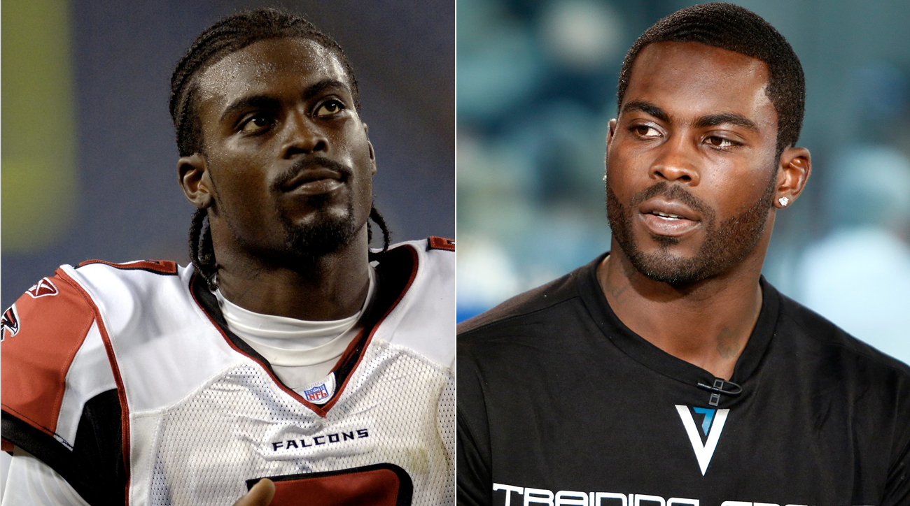 Michael Vick often wore his hair in cornrows before adopting a different hairstyle later in his career.
