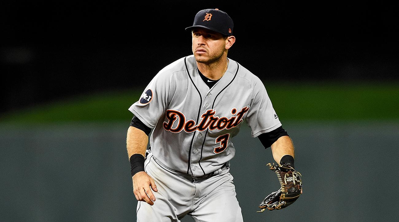 Detroit Tigers Ian Kinsler