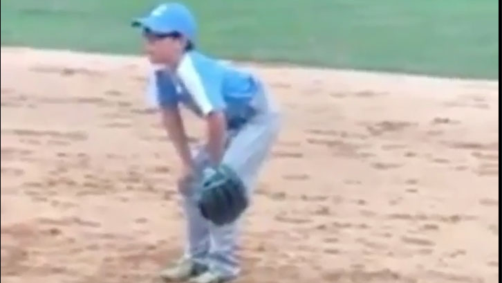 WATCH: This Kid Caught a Baseball and He Is Unbelievably Excited