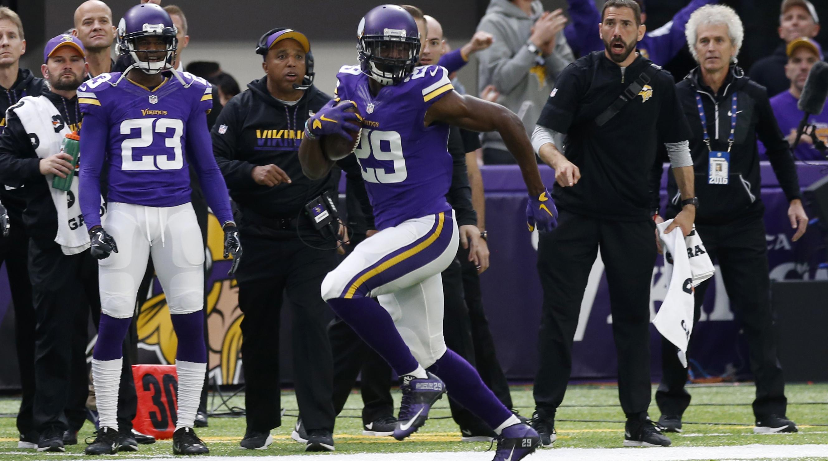 Xavier Rhodes Minnesota Vikings agree to 5 year extension