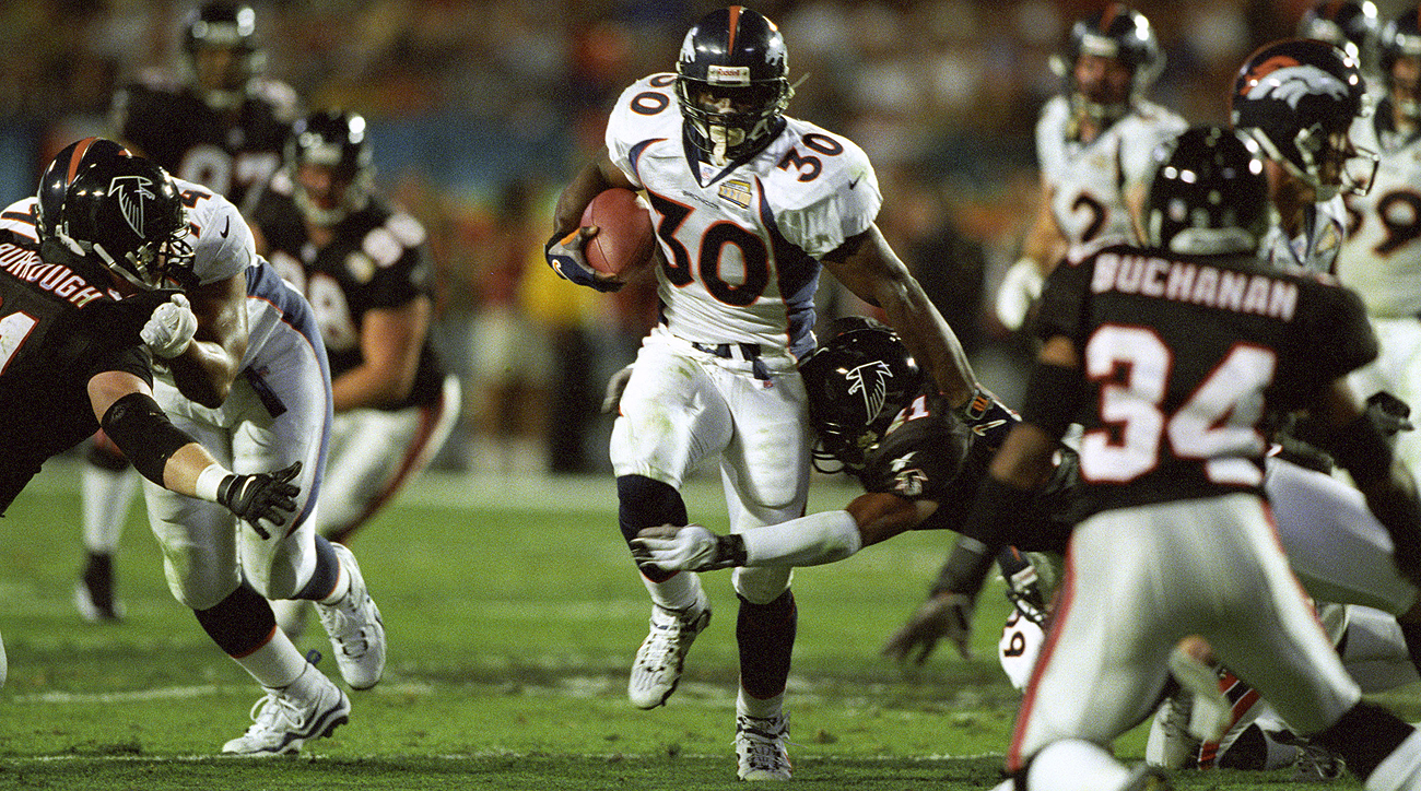 Terrell Davis helped the Broncos win two Super Bowls during his seven-year career.
