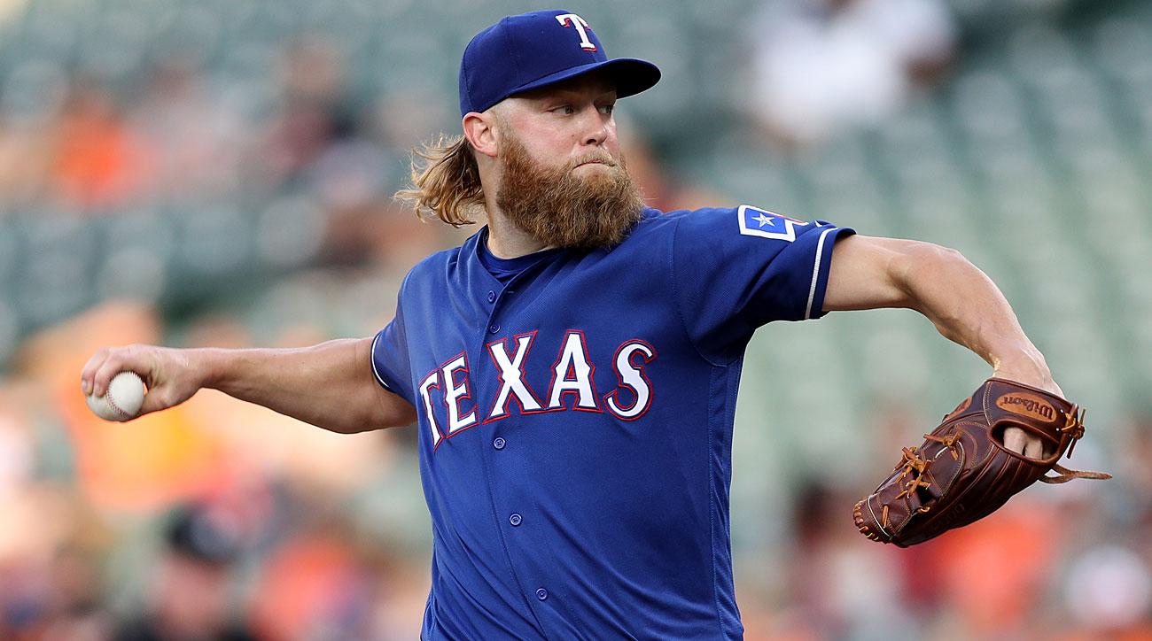 Andrew Cashner, Texas Rangers