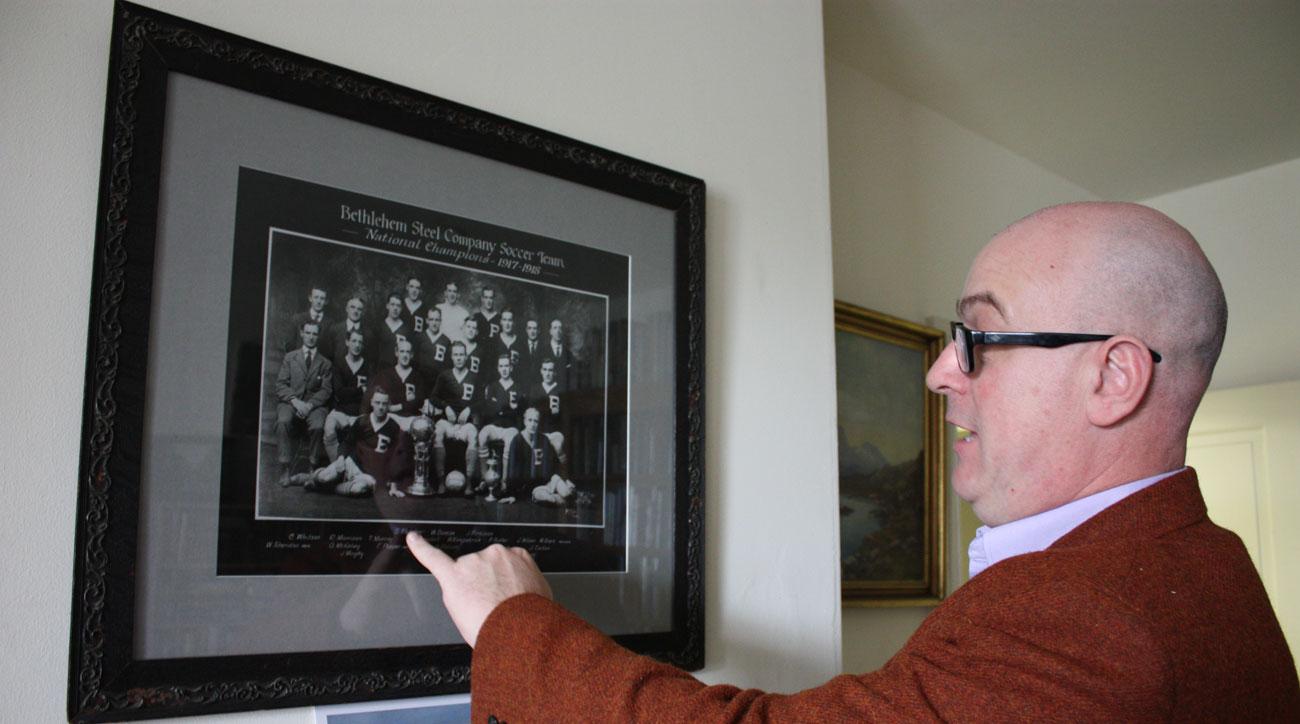 Dan Morrison has chronicled the history of Bethlehem Steel