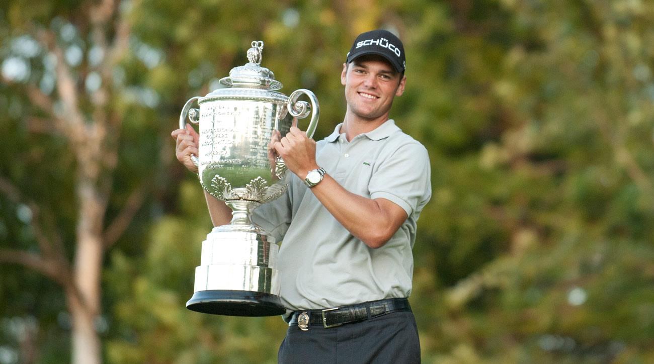 Martin Kaymer captured his first major at the 2010 PGA Championship at Whistling Straits.