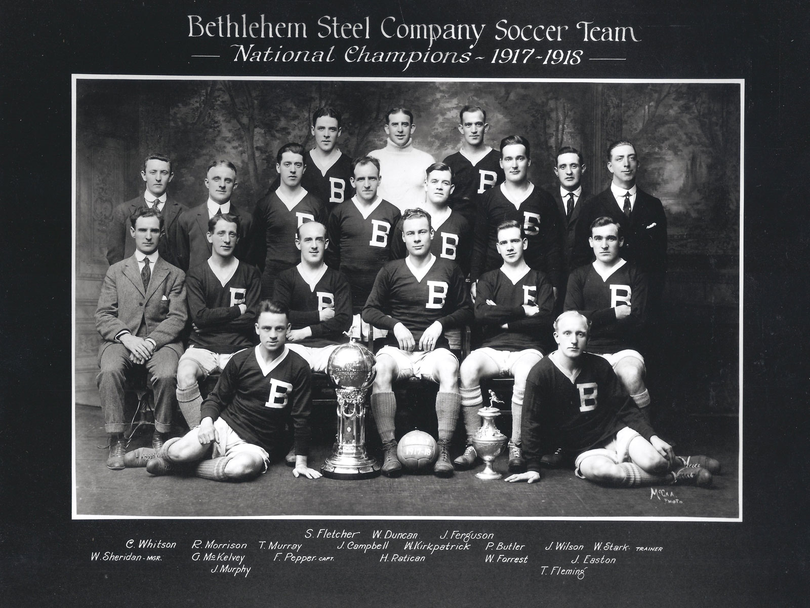 Bethlehem Steel is one of U.S. Soccer's most storied clubs