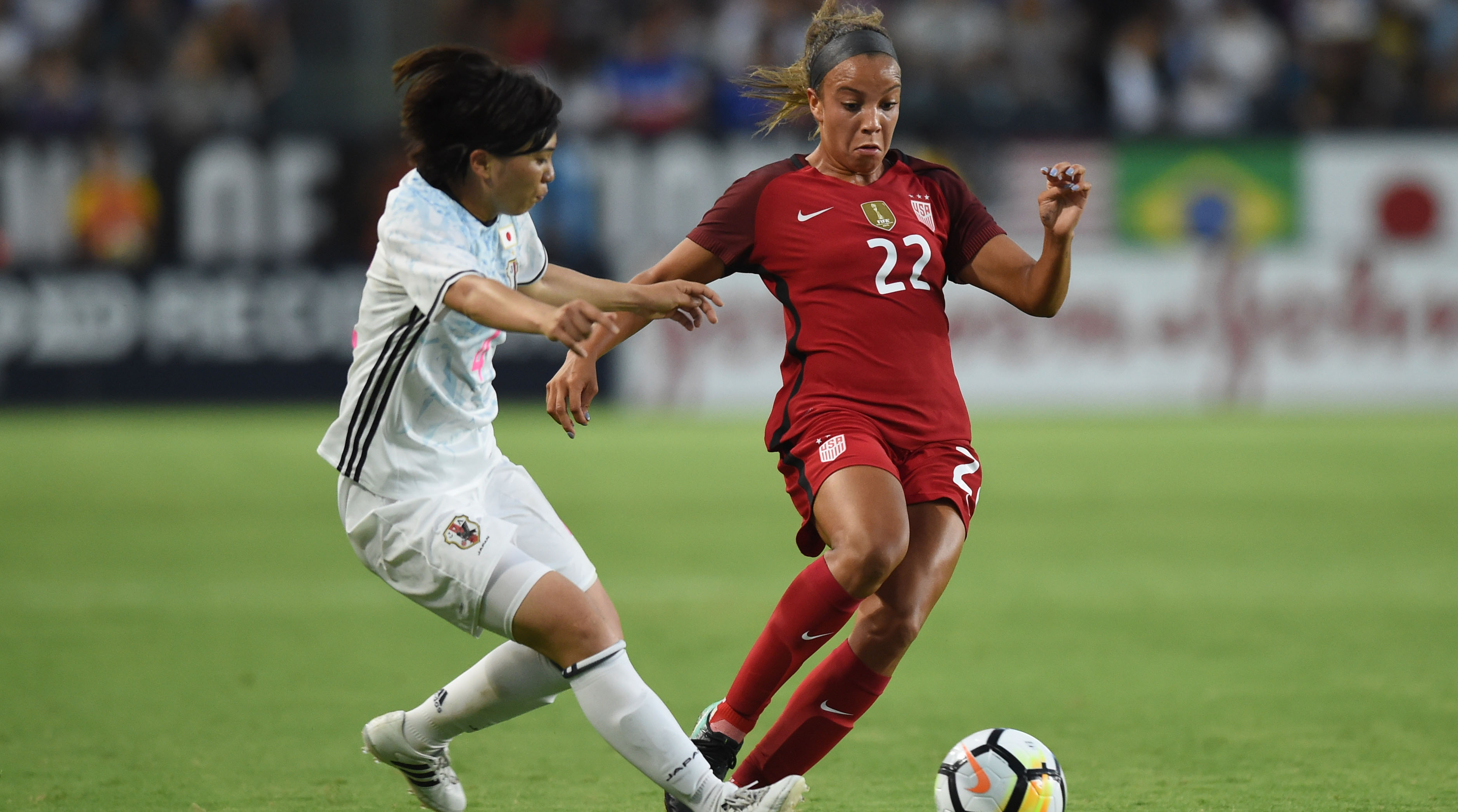 Watch: USWNT Nets 3 Goals In Victory Over Japan