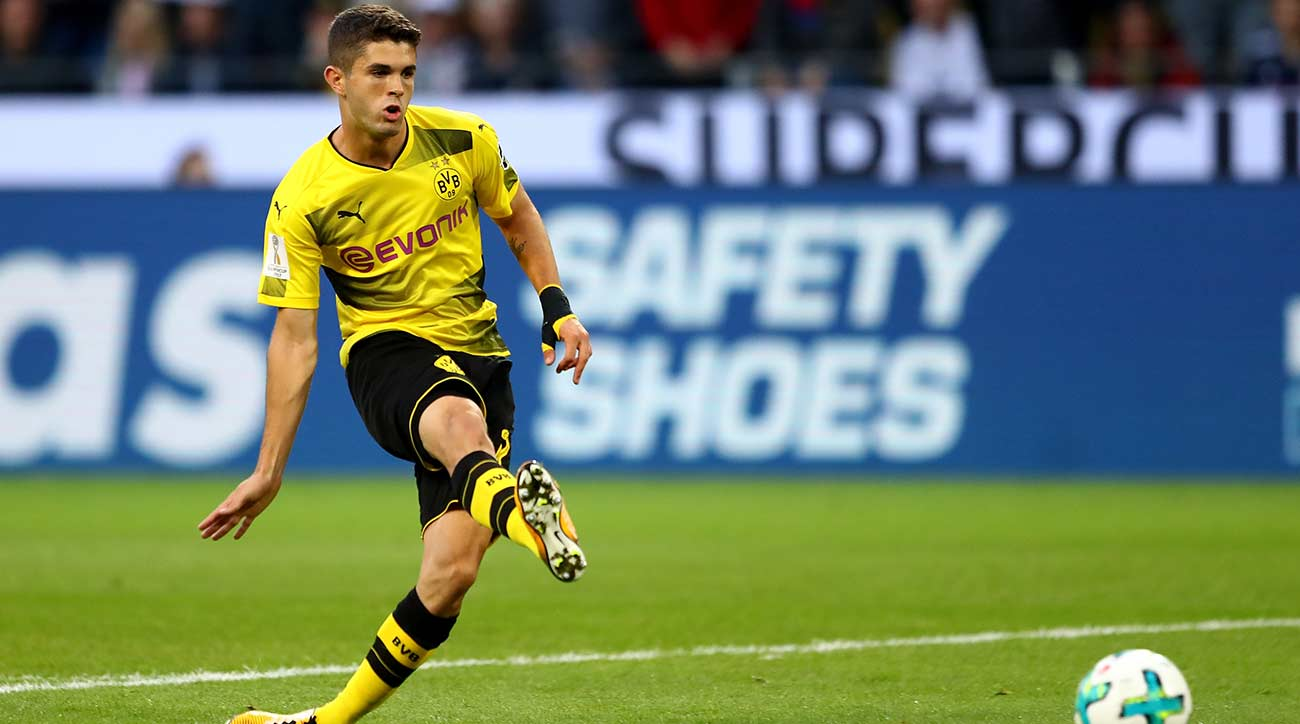 Watch: Christian Pulisic Scores For Dortmund In German Supercup