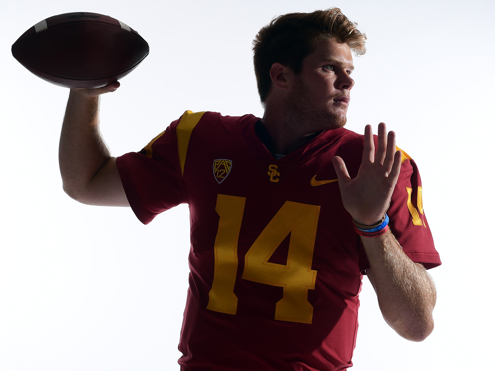 Sam Darnold USC QB has Heisman NFL draft in his sights