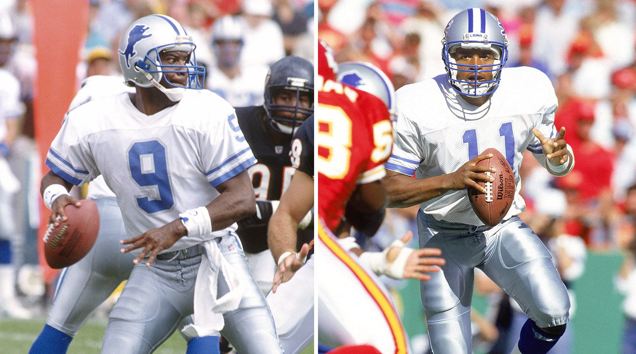 Lions 1990-93: Peete (9) was a sixth-round pick in 1989 and went 3-5 as a rookie fill-in. Ware was the seventh overall pick of the 1990 draft, hand-picked by GM Jerry Vainisi.
