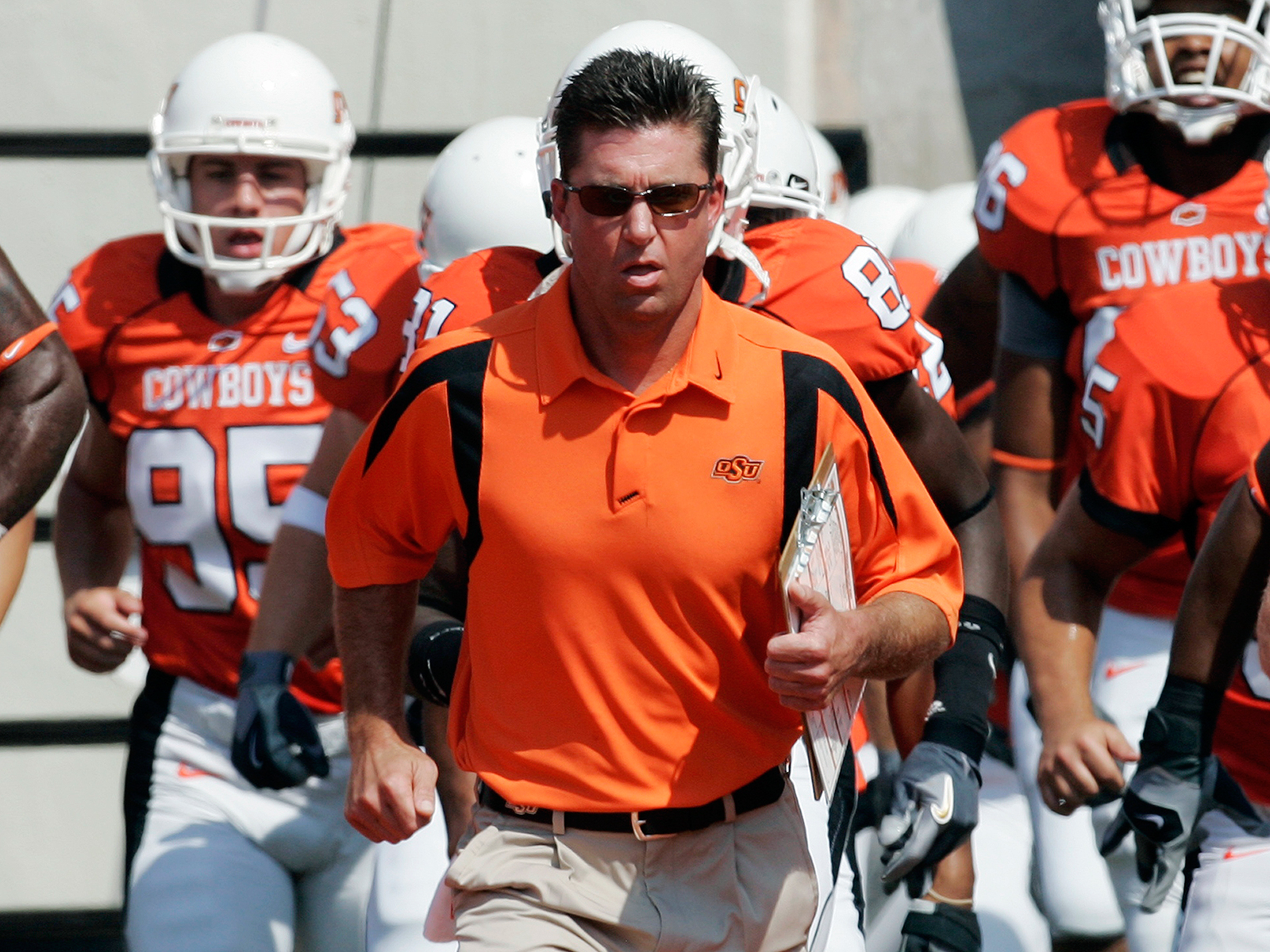 Mike Gundy vs. Texas Tech in 2007