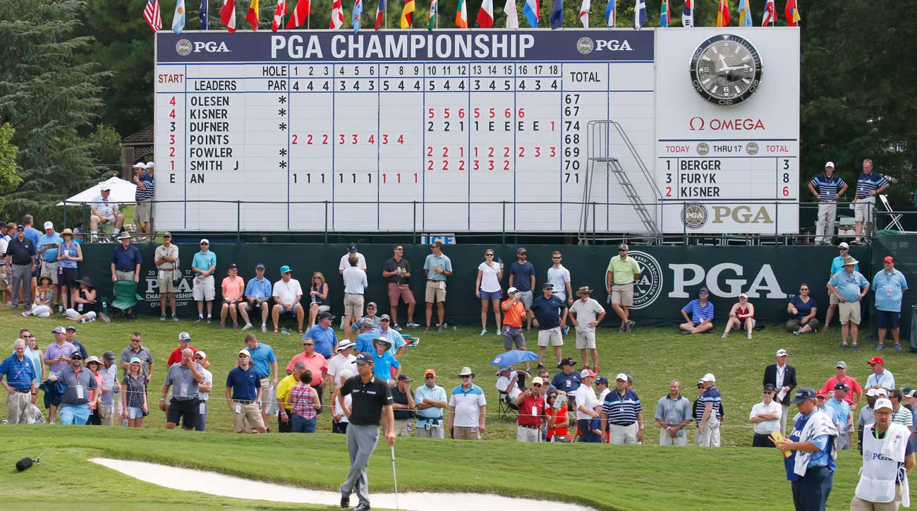You can find tee times for the third round of the 2017 PGA Championship below.