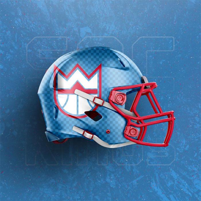 Kings helmet