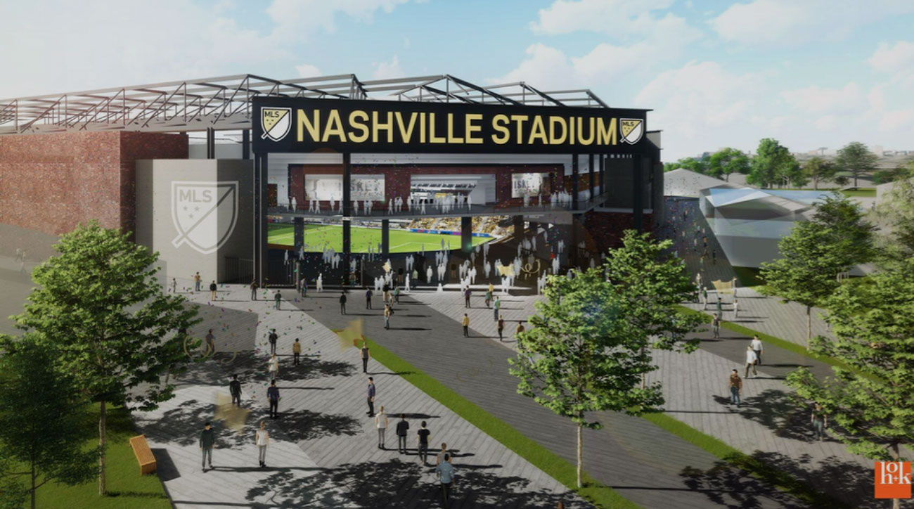 Preliminary Concept designs released for Nashville MLS stadium