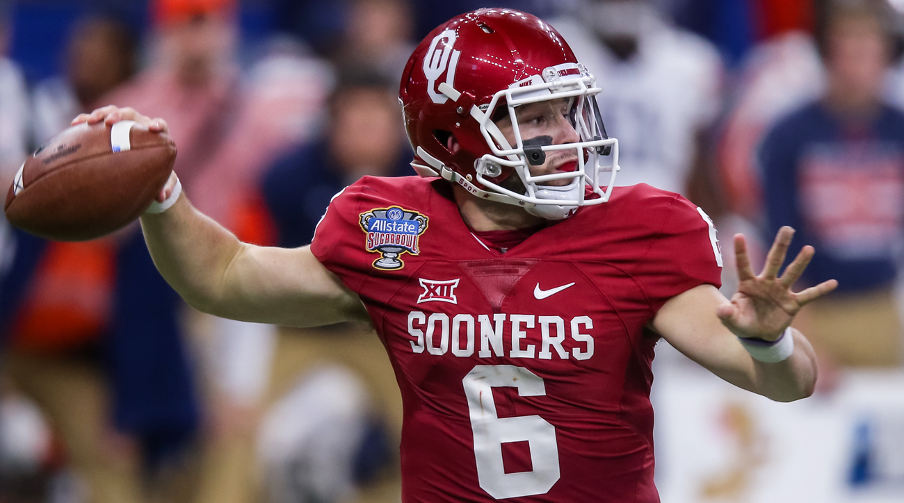 Mayfield flourished in his second year running Lincoln Riley's spread attack, leading the nation in completion percentage (71.0%) and earning himself a Heisman Trophy ceremony invitation. Now that Riley has been elevated to head coach, more responsibility falls on the Sooners' QB.