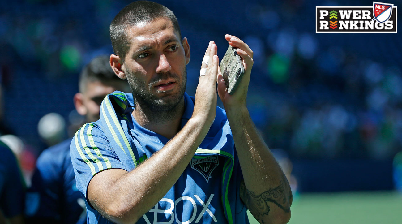 Clint Dempsey and the Seattle Sounders are on a roll in MLS