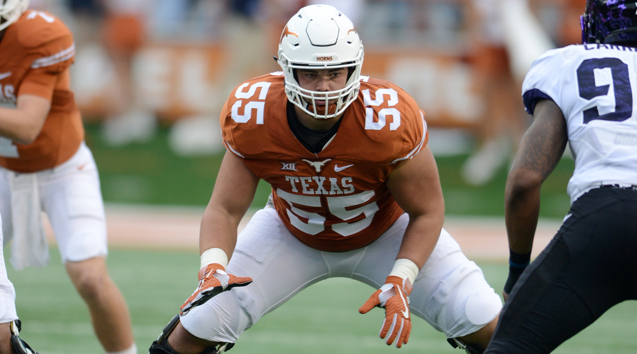 Williams is well on his way to becoming the first Longhorn O-lineman selected in the first round of the NFL draft since 2002 (and the first drafted at all since '08). For now, he's focused on holding down the blind side for a Texas line trying to get back to respectability in Tom Herman's first year in Austin.