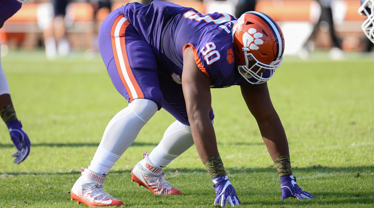 All but one of SI's All-America voters had Clemson represented in some way on their defensive line ballots. Alongside fellow sophomore Clelin Ferrell and second-team selection Christian Wilkins, Lawrence is the most dominant member of one of the deepest position groups in the country. His seven sacks are the most coming back on a Tigers defense that finished third nationally with 49 a year ago.