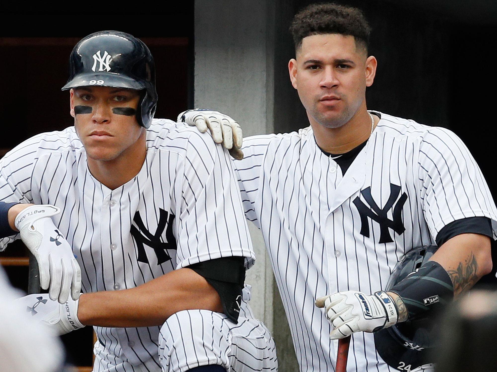 Aaron Judge and Gary Sanchez, New York Yankees