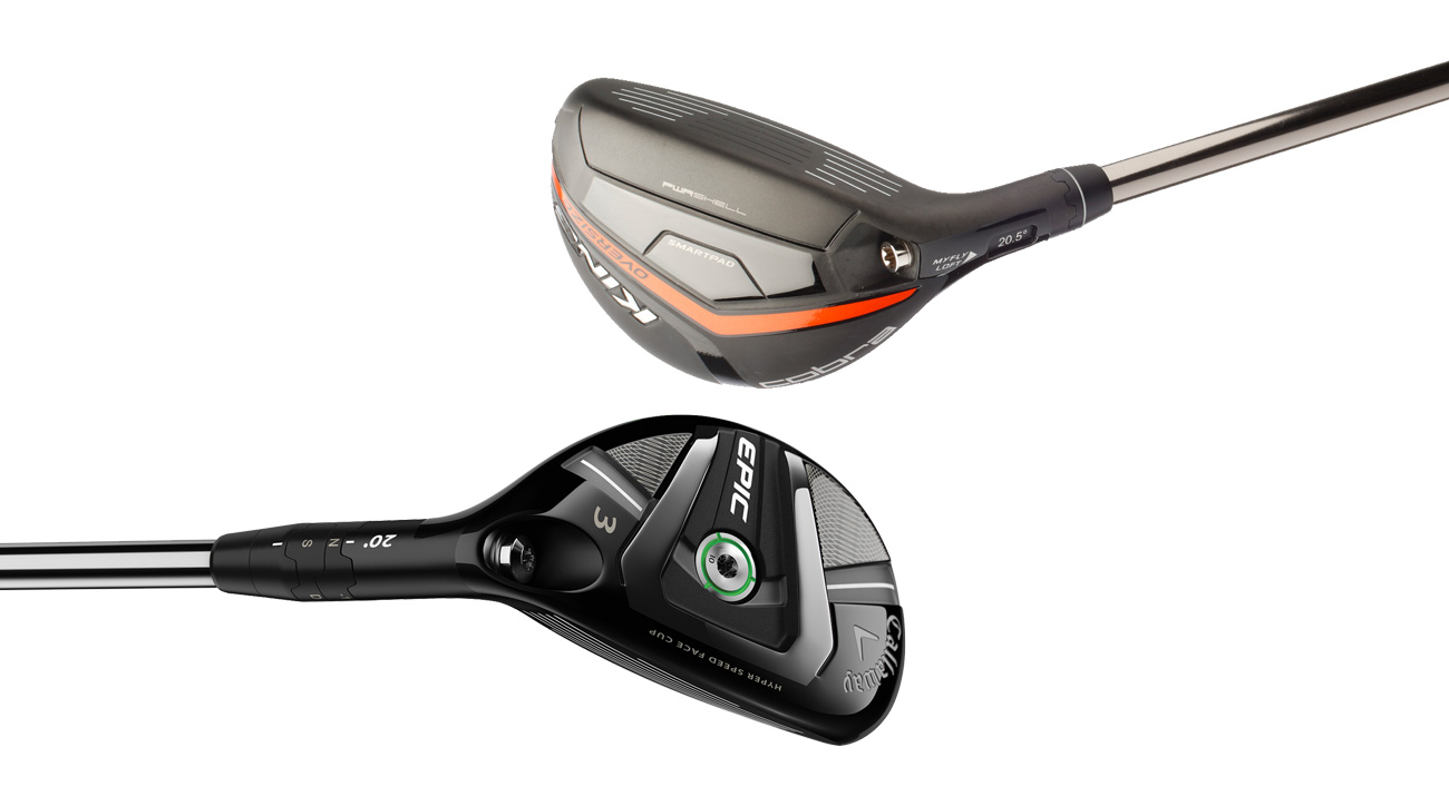 Learn all about the Cobra King OS hybrid and the Callaway Epic hybrid below.