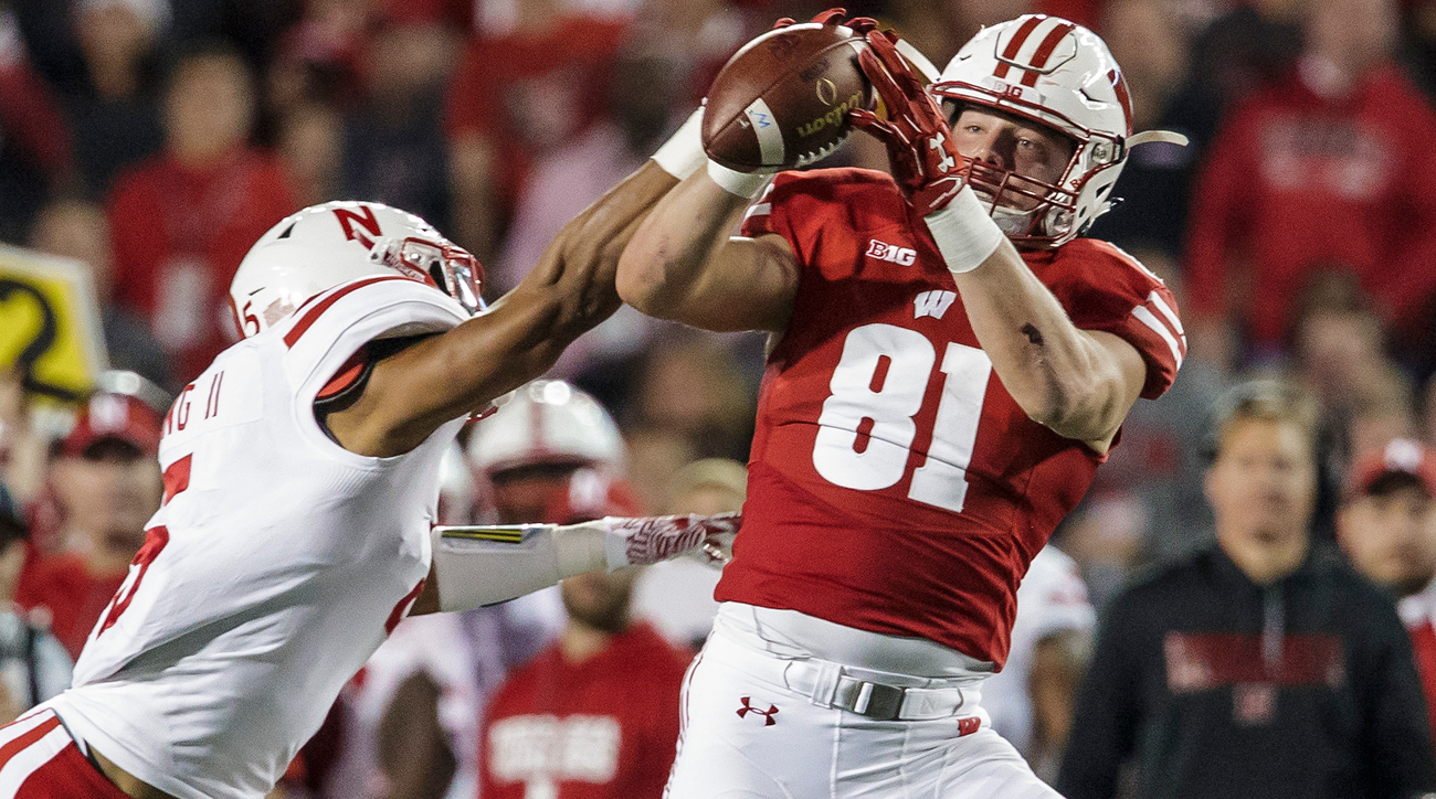"The 6' 6"", 248-pound senior only found the end zone twice in 2016, but he delivered in the Badgers' biggest games of the year, and he has the soft hands and body control of a much slighter target. He will be invaluable to sophomore QB Alex Hornibrook, who needs reliable options as he reassumes starting duties."