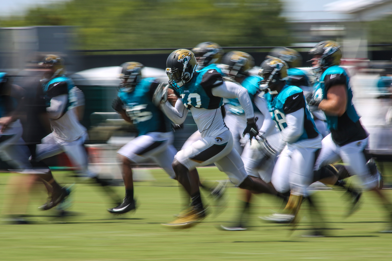 The Jaguars are moving at a different speed in training camp than they have in previous seasons.