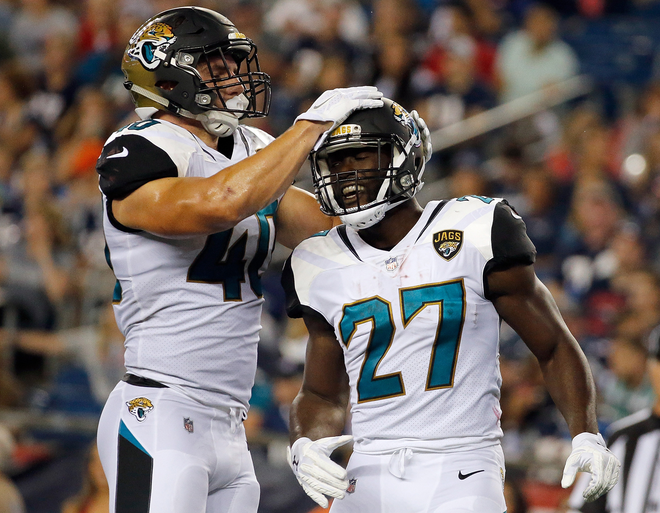 Jaguars rookie running back Leonard Fournette made some eyebrow-raising comments about the speed of the NFL.