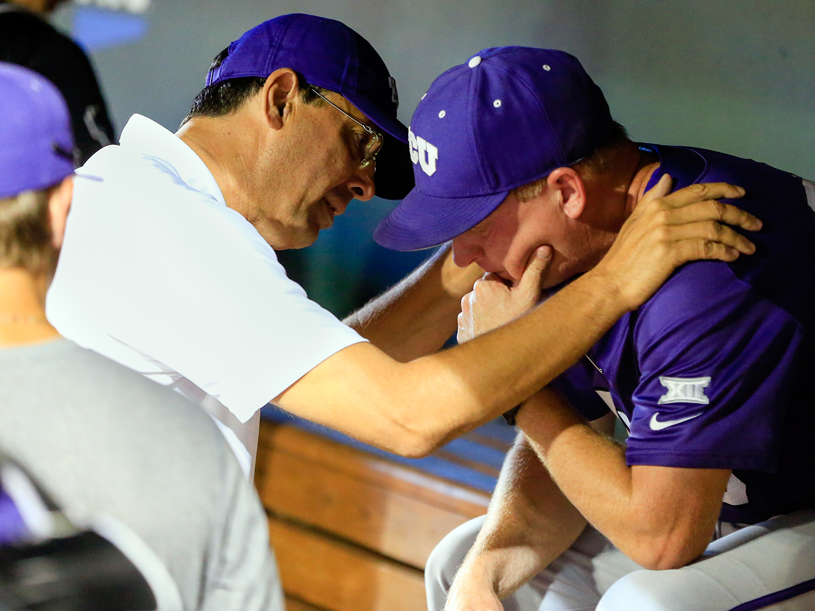 Chris Del Conte (left) earned high marks for the success TCU has enjoyed across multiple major sports since he arrived in Fort Worth.