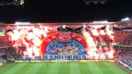 Legia Warsaw Fans Are Back At It With Another Crazy Tifo