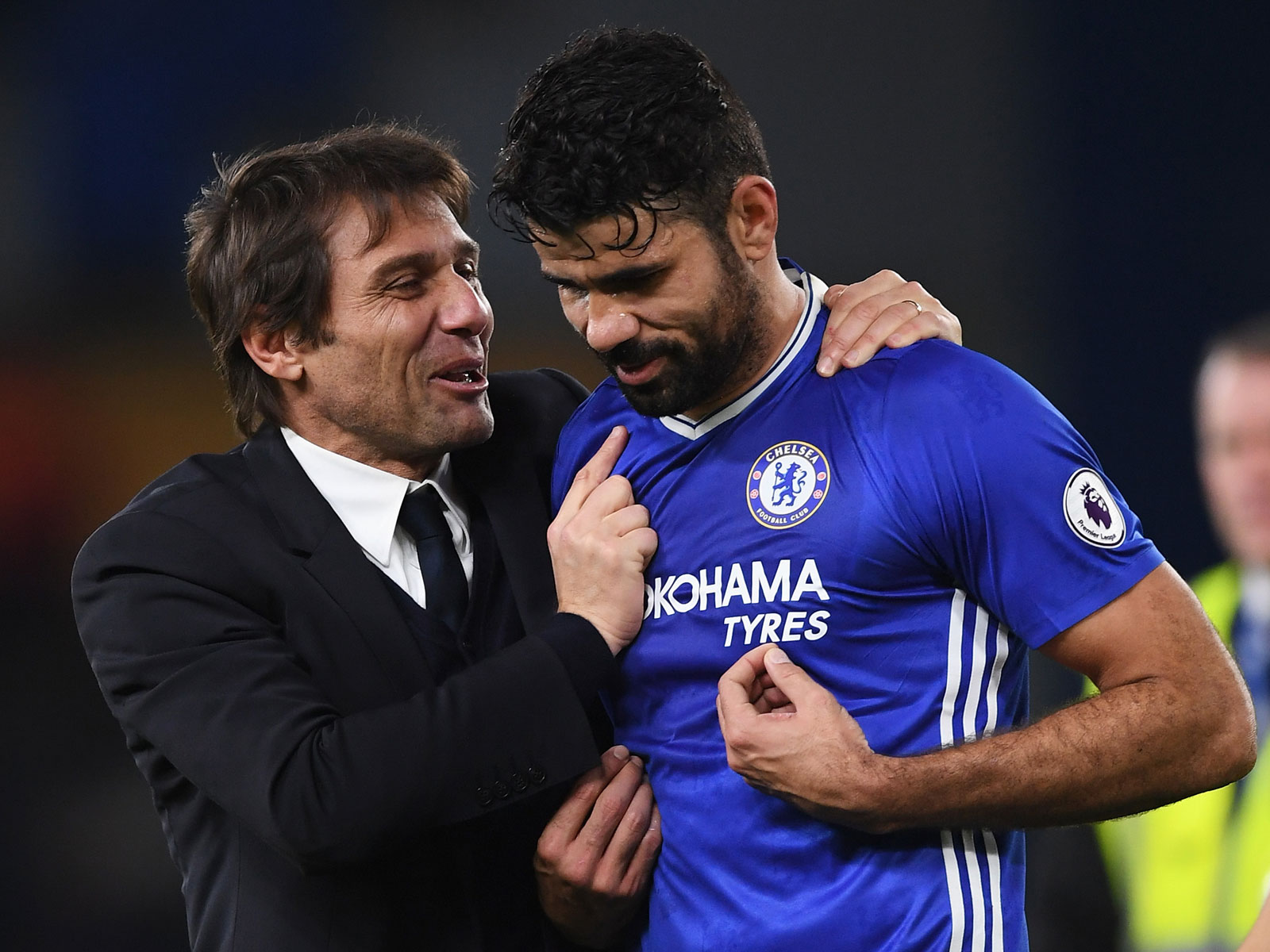 Antonio Conte has made it clear he has no plans for Diego Costa at Chelsea