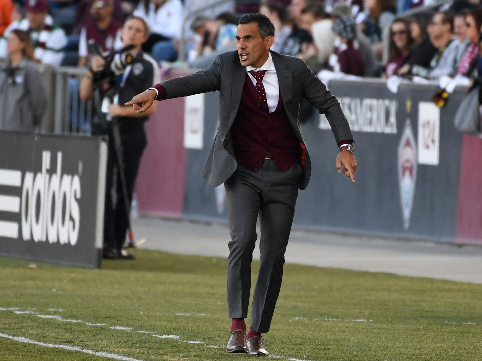 Pablo Mastroeni is out as manager of the Colorado Rapids