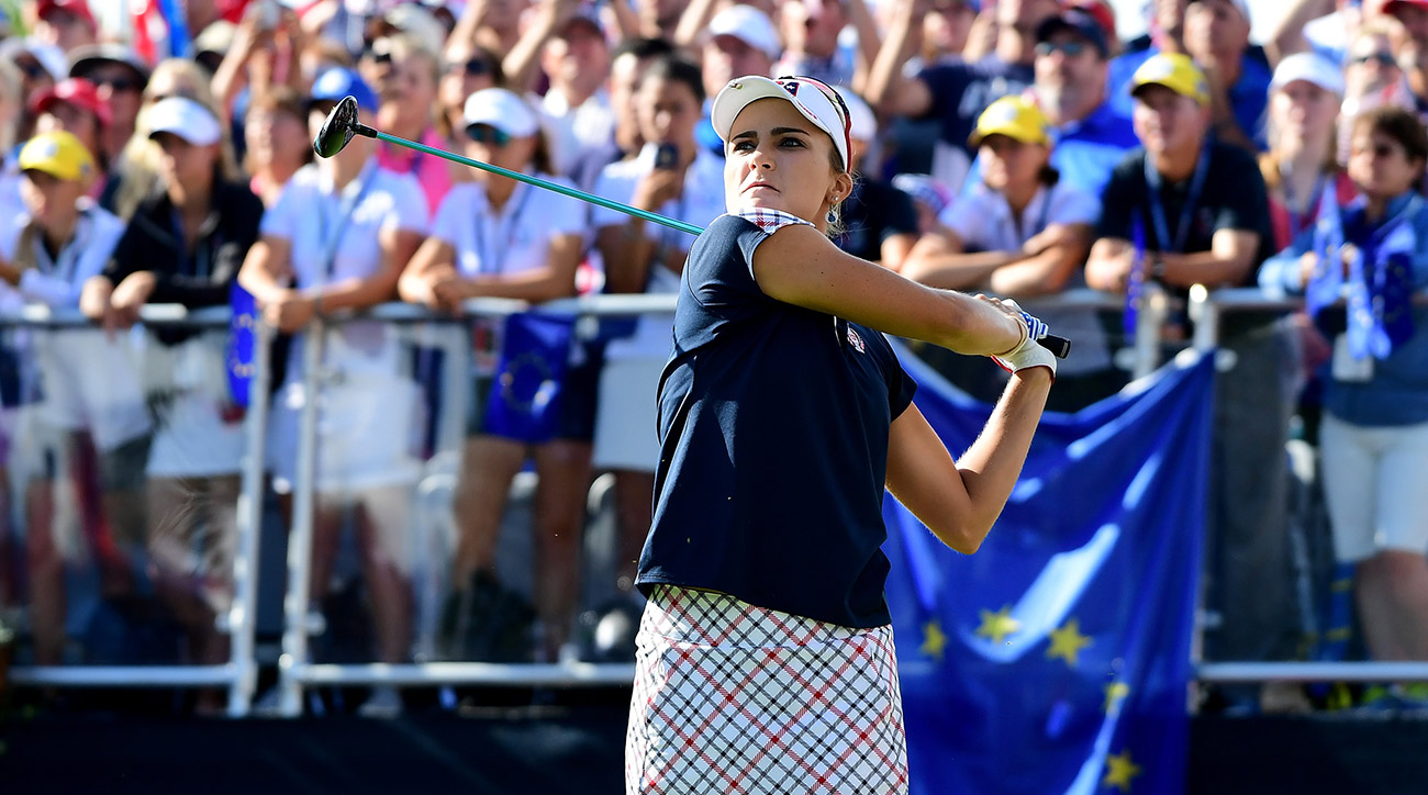 Lexi Thompson started slow, but finished on fire.