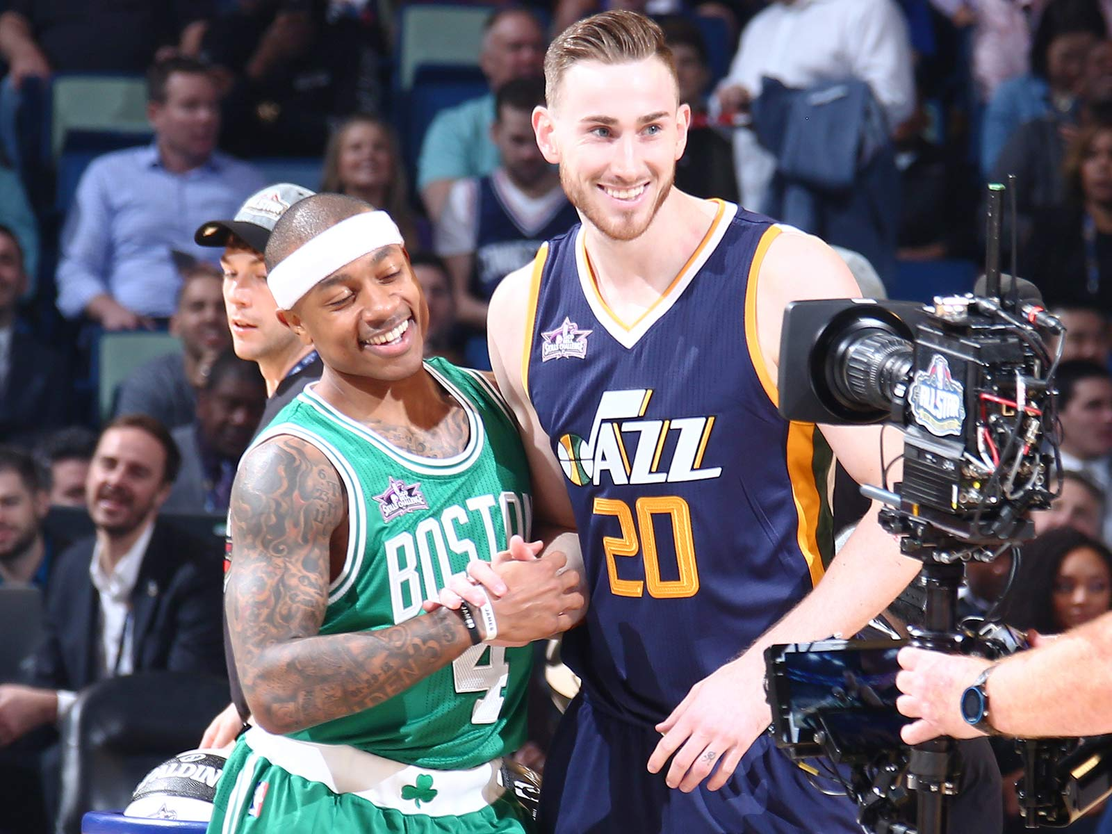 Isaiah Thomas and Gordon Hayward