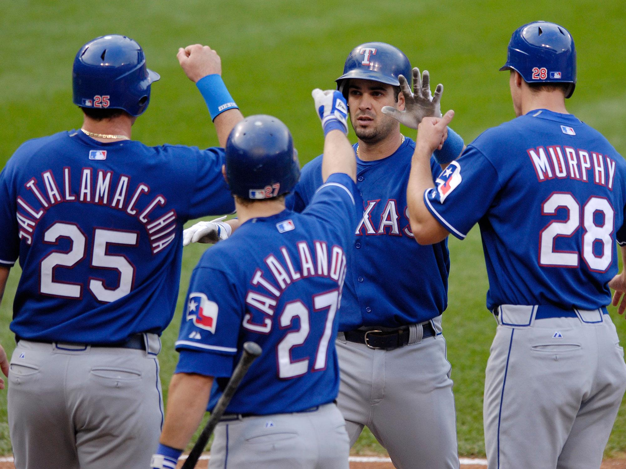 Ramon Vazquez, Texas Rangers