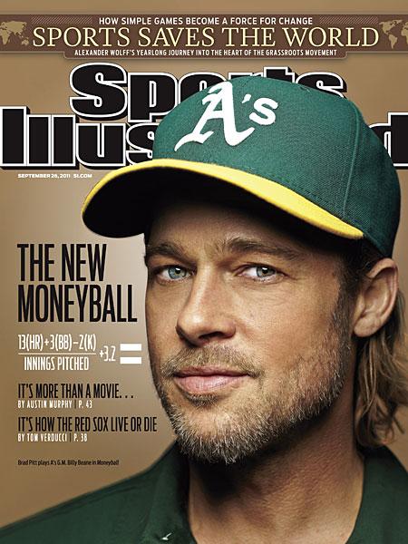 Brad Pitt SI cover