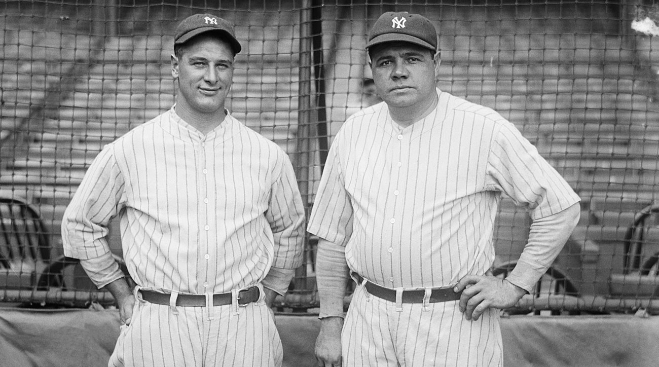 Lou Gehrig and Babe Ruth, New York Yankees