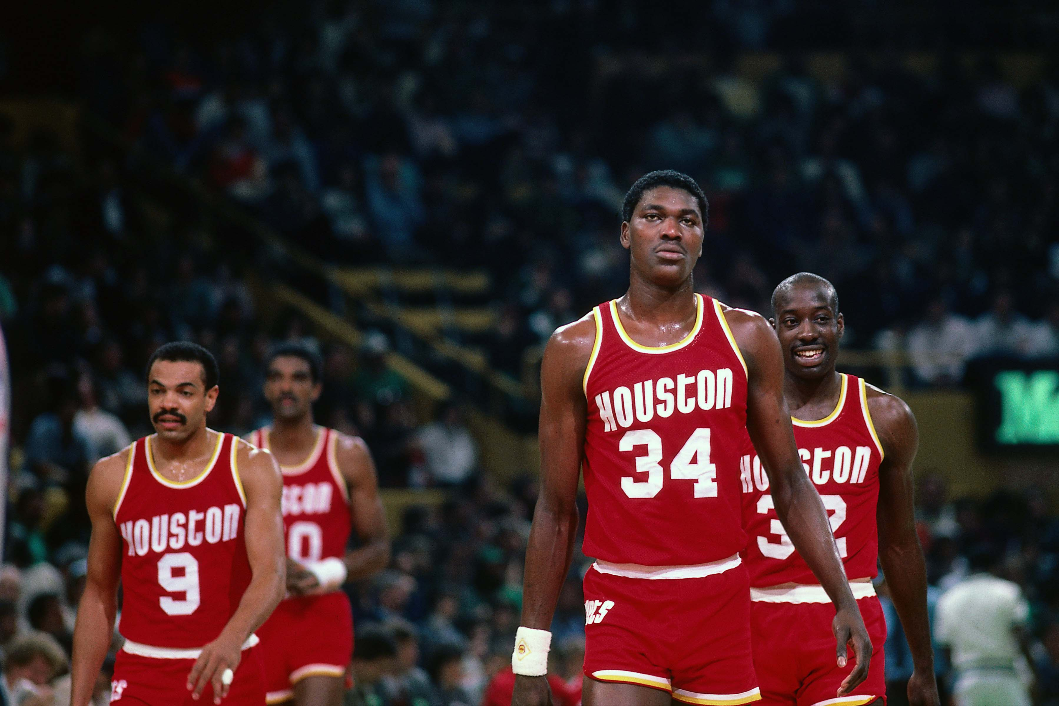 Hakeem Olajuwon demanded a trade in 1992.