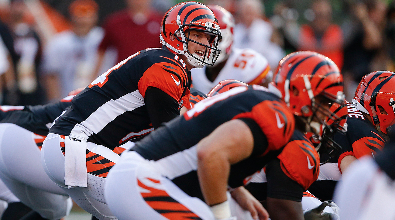 Andy Dalton is entering his seventh NFL season and has only missed three games due to injury in his career. He is 56-35-2 as a starting quarterback.
